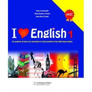 Quaderno per la lingua inglese.