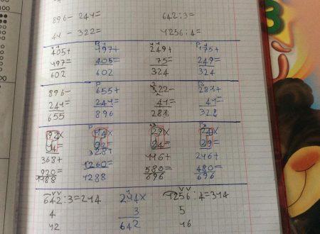 Marina e la matematica.