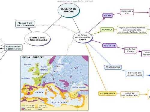 Mappe geografia.