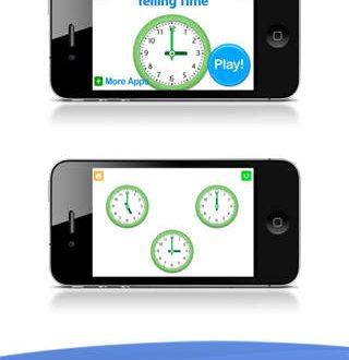 App per imparare a leggere l'orologio. IOS