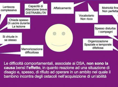 Le difficoltà comportamentali. DSA