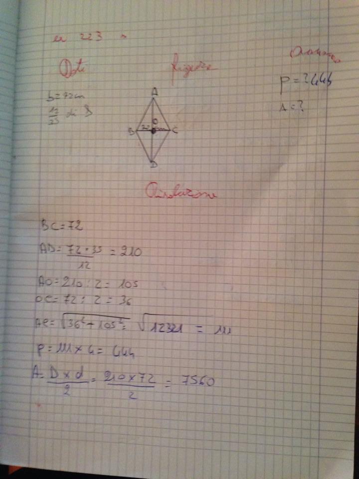problema andrea geometria