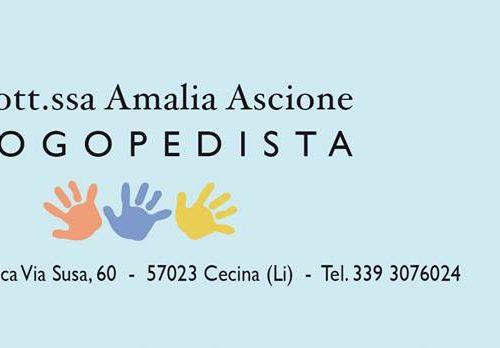 Logopedista Dott.ssa Amalia Ascione (Livorno)
